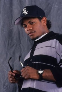 NEW YORK - 1993:  Rapper Eazy-E poses for a portrait in 1993 in New York, New York. (Photo by Al Pereira/Michael Ochs Archives/Getty Images)