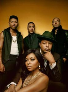 EMPIRE: (L-R) Bryshere Gray, Trai Byers, Jussie Smollett, Terrence Howard and Taraji P. Henson. The epic family battle begins when the sexy and powerful new drama EMPIRE debuts, with limited commercial interruption, following AMERICAN IDOL XIV on Wednesday, Jan. 7, 2015 (9:00-10:00 PM ET/PT) on FOX. (Photo by FOX via Getty Images)